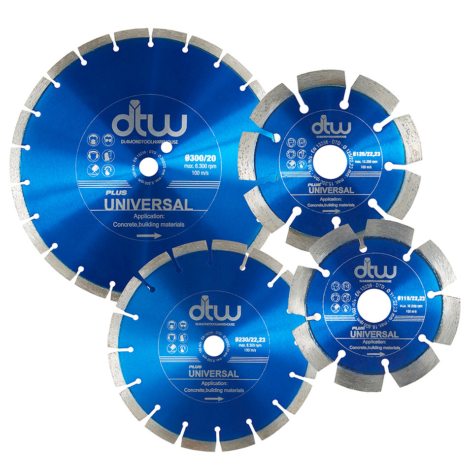 DTW Plus Universal Diamond Blade