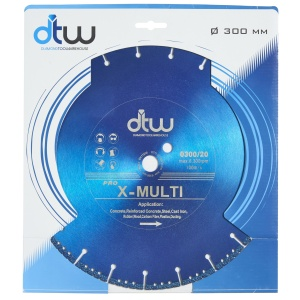 DTW Pro X-Multi Saw Diamond Blade