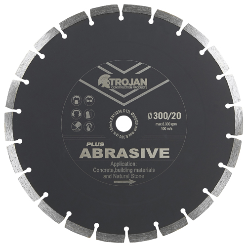 Trojan Plus Abrasive Diamond Blade
