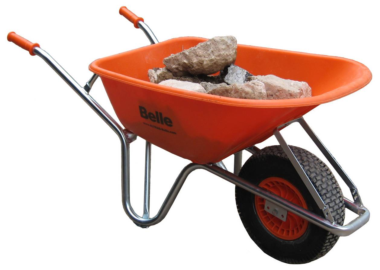 Altrad Belle Warrior Wheel Barrow plus tyre options