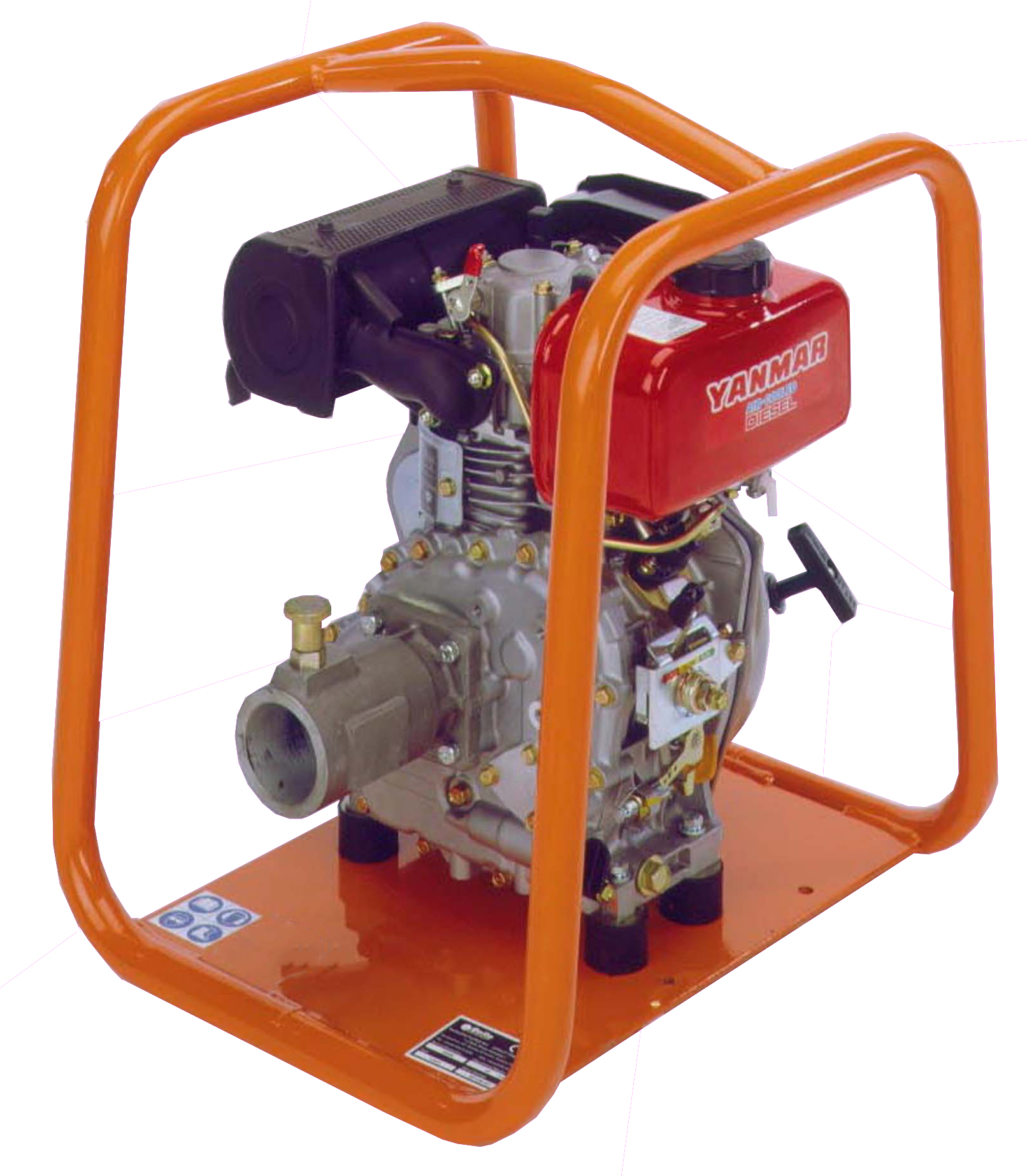 Altrad Belle BGA Power Unit & Pump - Yanmar Diesel