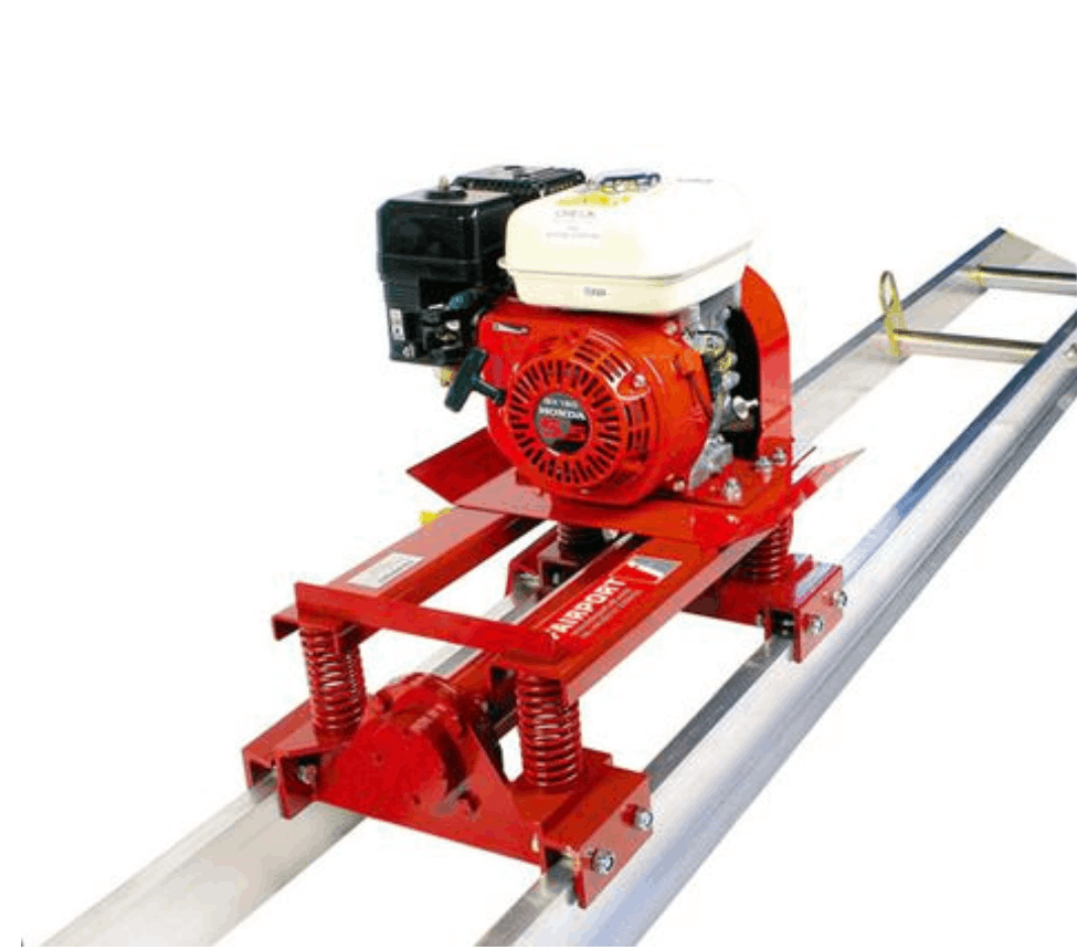Fairport Double Beam Super Screeding Machine & Aluminum Beam Variations