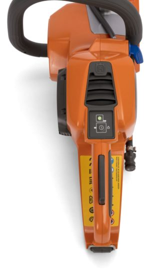 Husqvarna K535i Battery Powered Disc Cutter and Battery Accessories