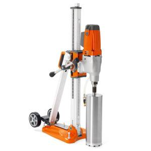 Husqvarna DMS240 drill and stand