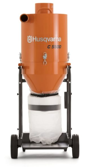 Husqvarna C5500 Industrial Dust Pre-Separator – 110V Electric