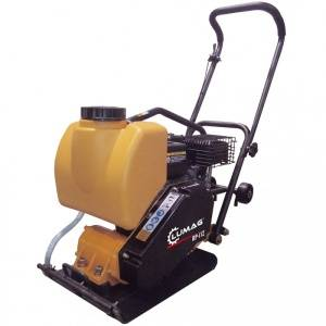 "Lumag RPi12 14"" Petrol Compactor Wacker Plate with Water System"