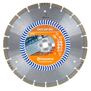 Husqvarna Tacti-Cut S50 300mm 12″ General Purpose Diamond Cutting Blade Disc Stihl Saw (CM15)