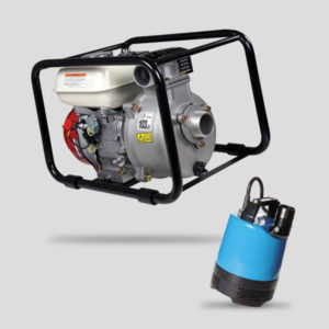 Submersible and Petrol Water Pumps